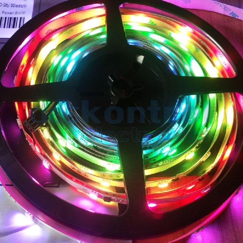 RGB digital led strip 12v - GS8208 30 LEDs/m