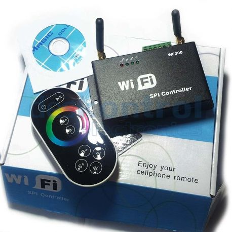 Controlador LED WIFI pixels LED y tiras LED digitales