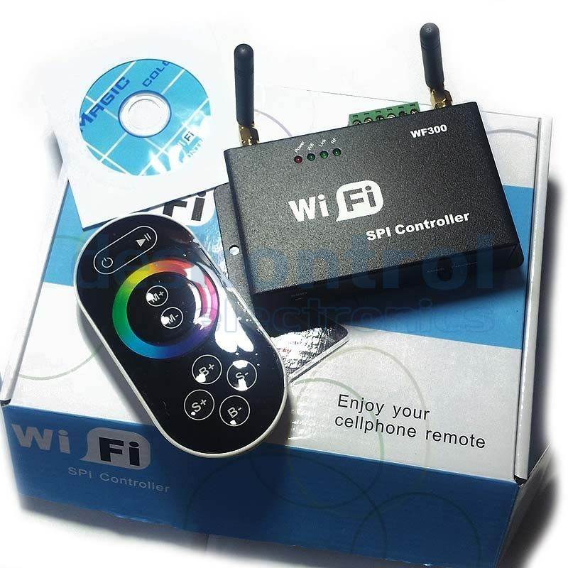 WIFI LED Controller LED pixels and digital LED strips