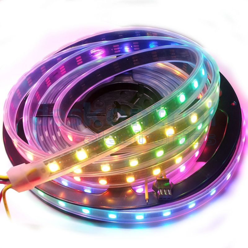 RGB digital led strip SK6812 60 leds/m 72w