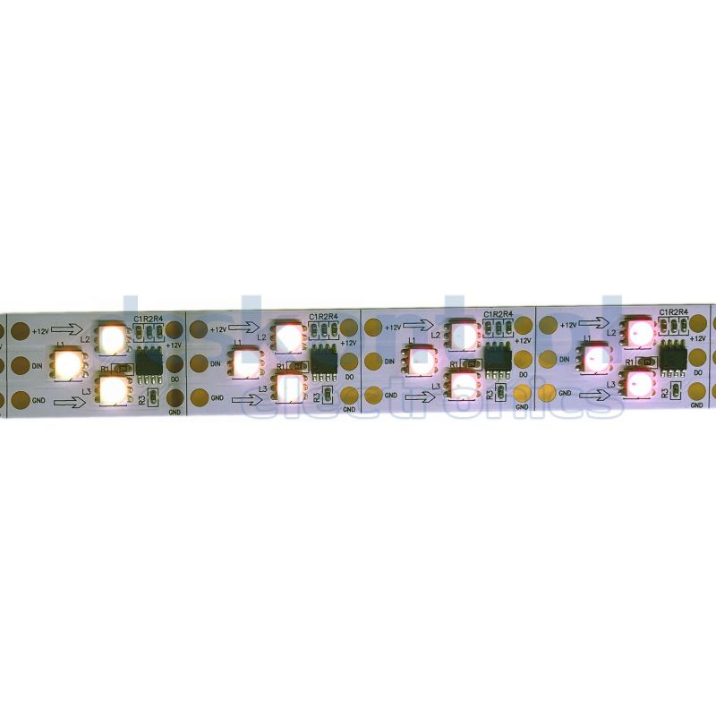 RGB digital led strip SK9822 60 leds meter 72w