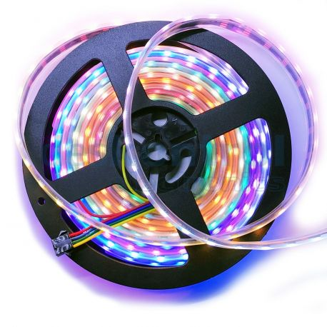 RGB digital led strip 12v 60 leds 60 pixels meter