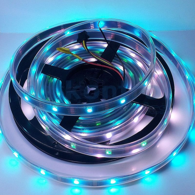 RGB digital led strip WS2811 30 leds 5 IC meter 36w 24v